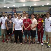 Swimmers Dive into District at Swim Meet