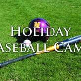Register for Holiday Baseball Camp, Nov. 20-22
