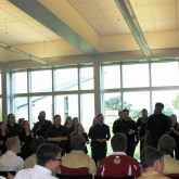 Chorus Members Welcome Southern Chorale to Campus