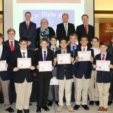 New Leaders Inducted at Fall Ceremony