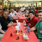 Class of 2019 Welcome Alumni Dads for Lunch