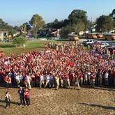 Crusaders Bring the 'Spirit' Outdoors at Pep Rally