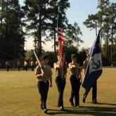 Cadets Capture First Place in Drill Meet