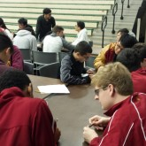 MA0 Competes in Catholic High Tournament
