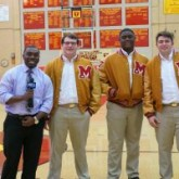 Crusader Football Players Interviewed on WWL-TV Morning Broadcast