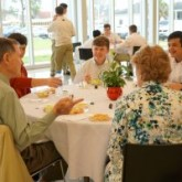 March for Life Group Shares Lunch with The Garvey's