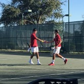 Tennis Season Starts with a Victory over Rummel