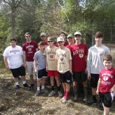Fishing Club Helps with City Park Conservation