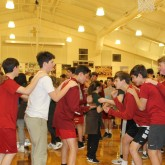 Eighth Graders Enjoy 'Crazy 8's' Event with Mount Carmel