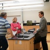 Teachers Welcome Parents for Visitations