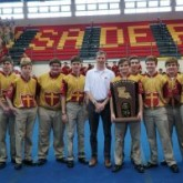 2018 Bowling State Champions Present State Trophy