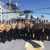 NJROTC Cadets Experience Fleet Week