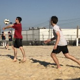 Beach Volleyball Dominates on the Court Against Jesuit