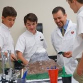 Earth Science 'Erupts' in the Lab