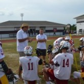 Lacrosse Teams Up with St. Stanislaus Rockachaws