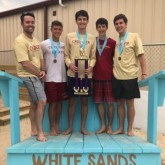 Crusaders Capture 2nd Straight Title in Beach Volleyball