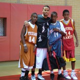 D.J. Augustin '06 Returns to Campus for Annual Basketball Camp
