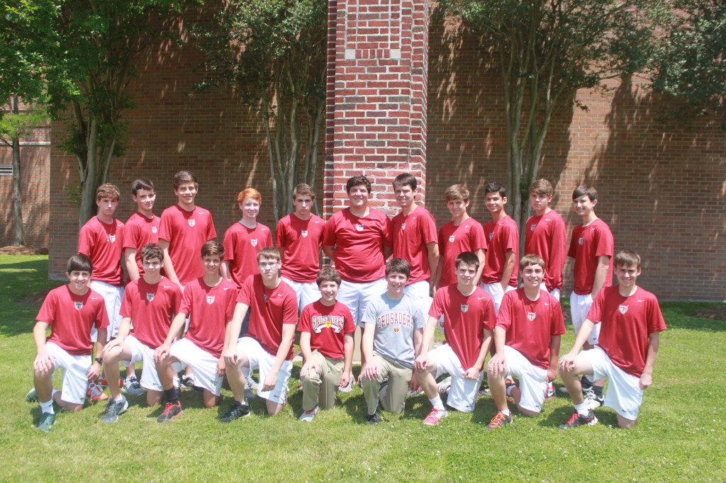 2013-2014 Crusader Tennis Team