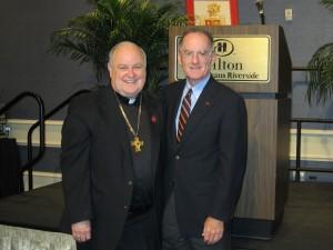Bishop Muench and John Devlin