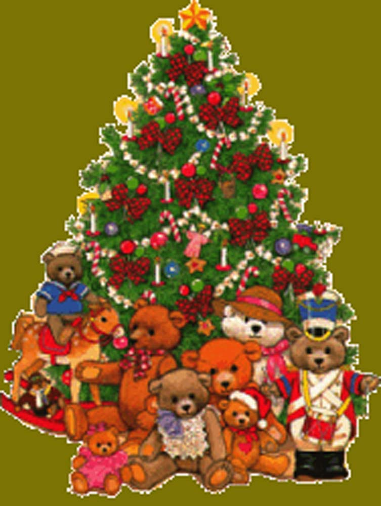Christmas Tree With Toys : Giving tree and njrotc toy drive reminder brother martin
