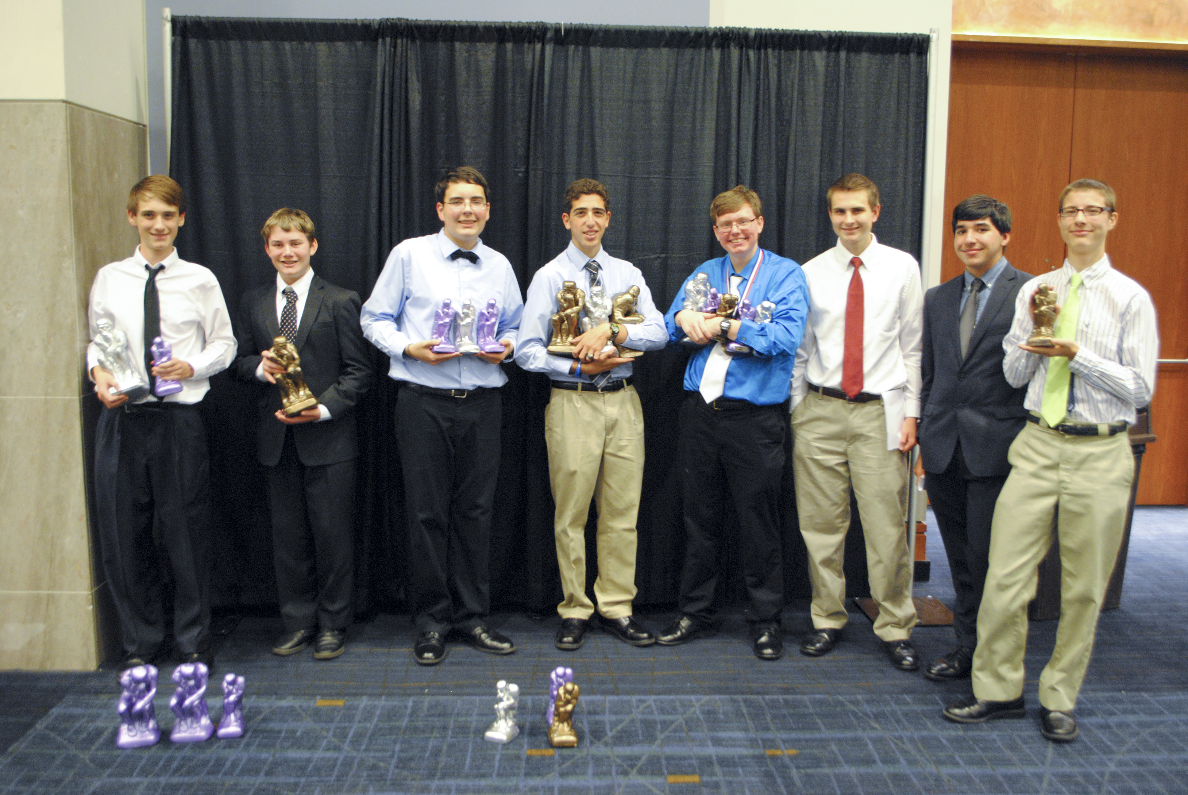 2013-2014 Brother Martin Academic Games Nationals Participants