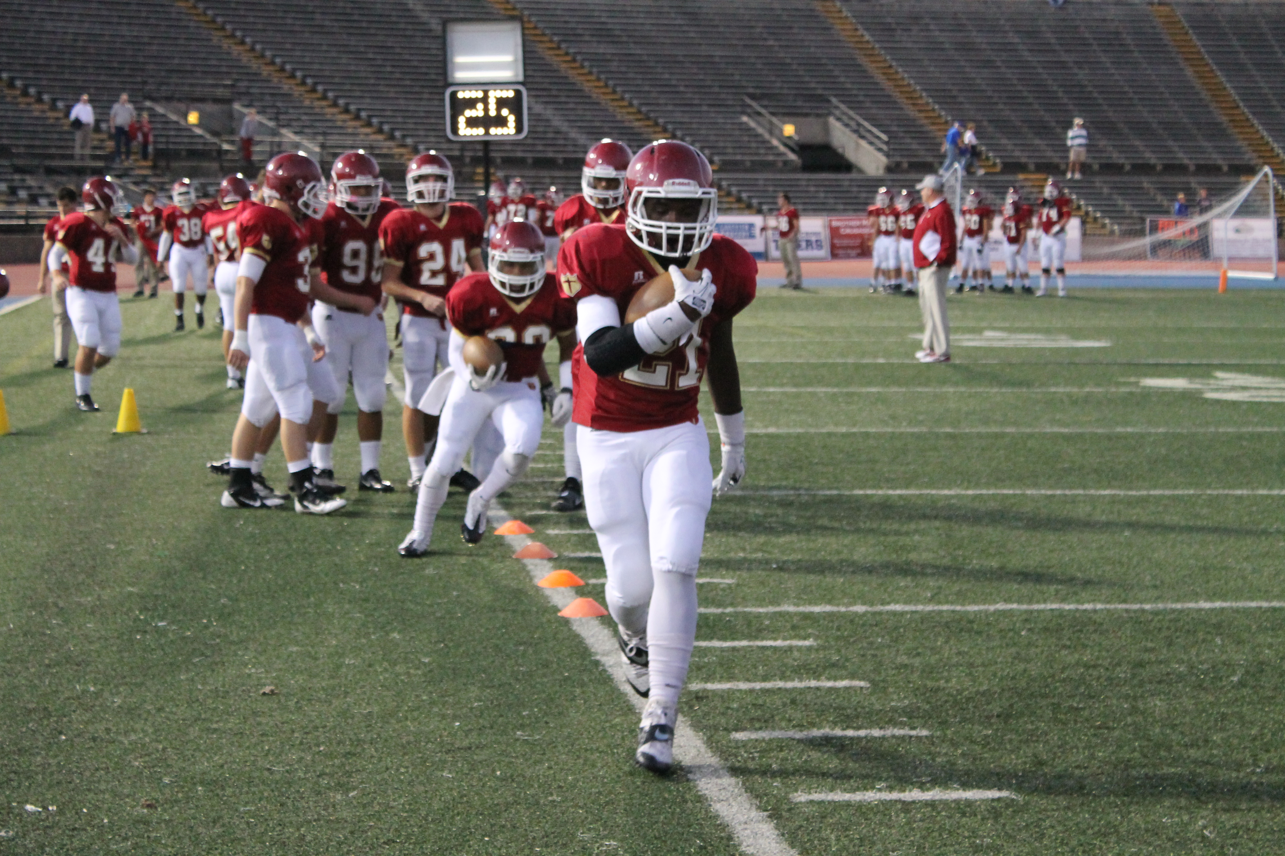 Crusaders End Spring Football On A High Note Brother Martin High