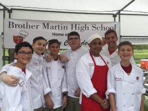 Culinary Crusaders at the 2017 Christian Brothers School' Fest.