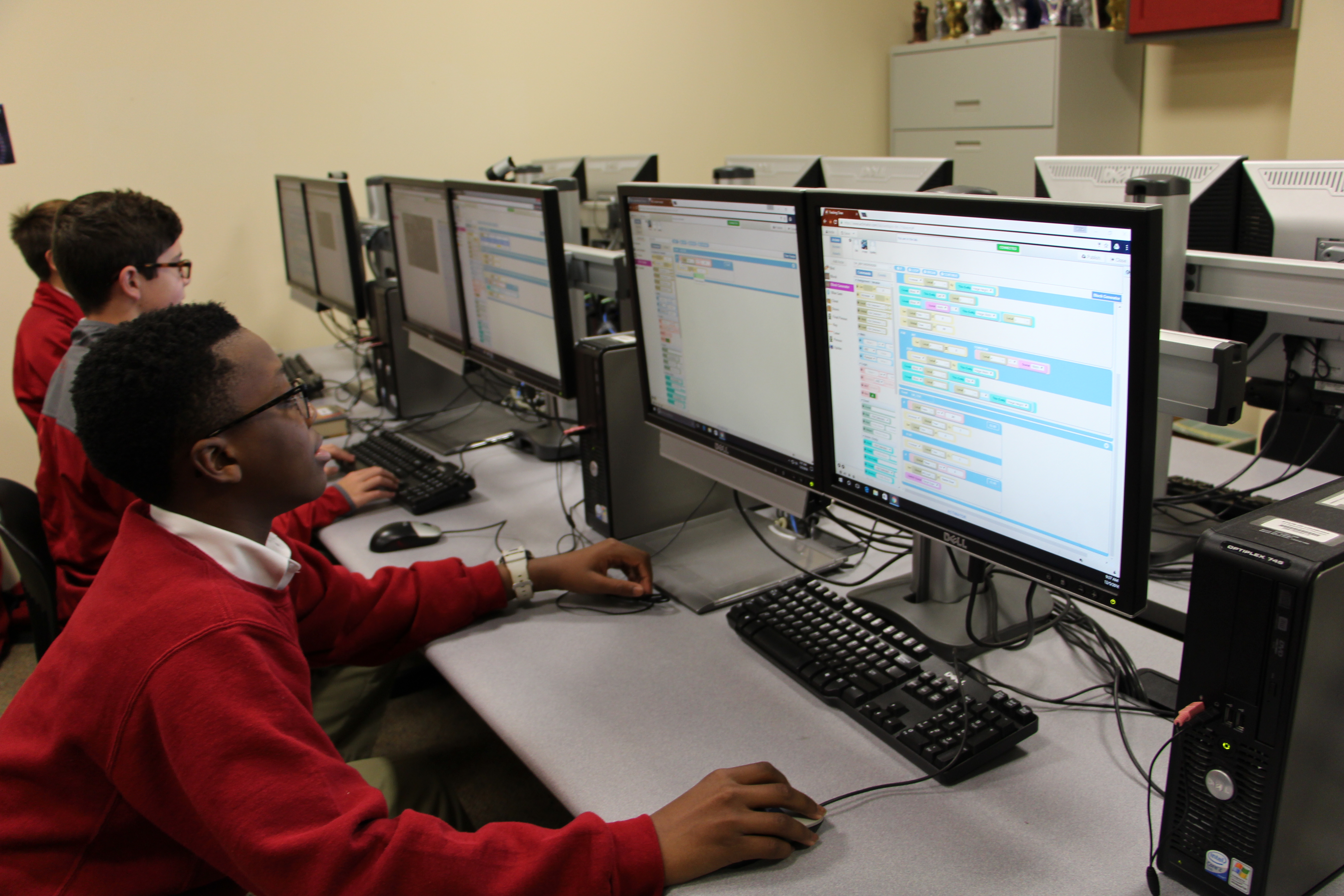Technology Management Image: Crusaders Celebrate Computer Science Education Week