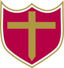BM Cross & Shield Logo Double Outline