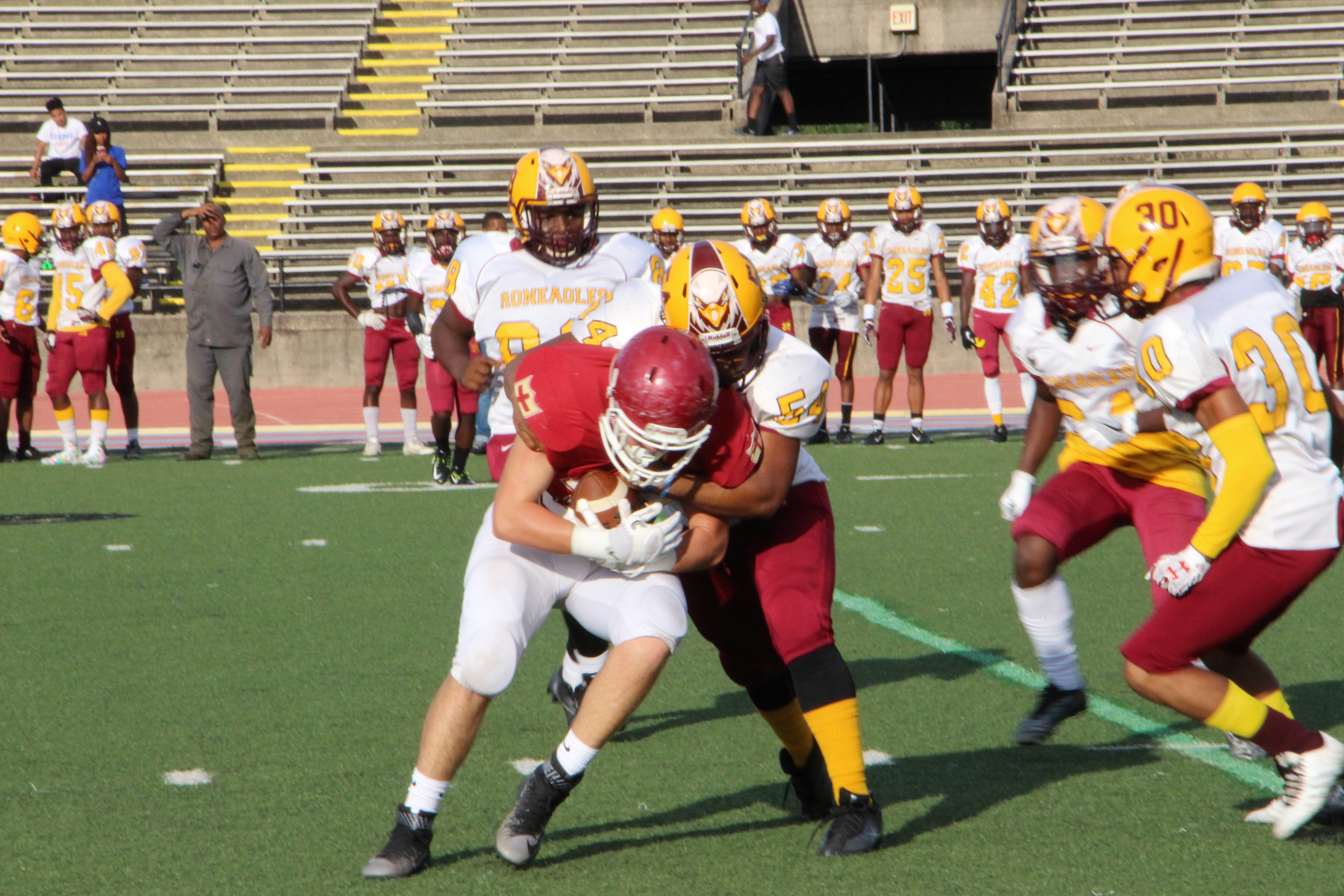 Bonis Crusader Football Team Playing Tough And With Promise