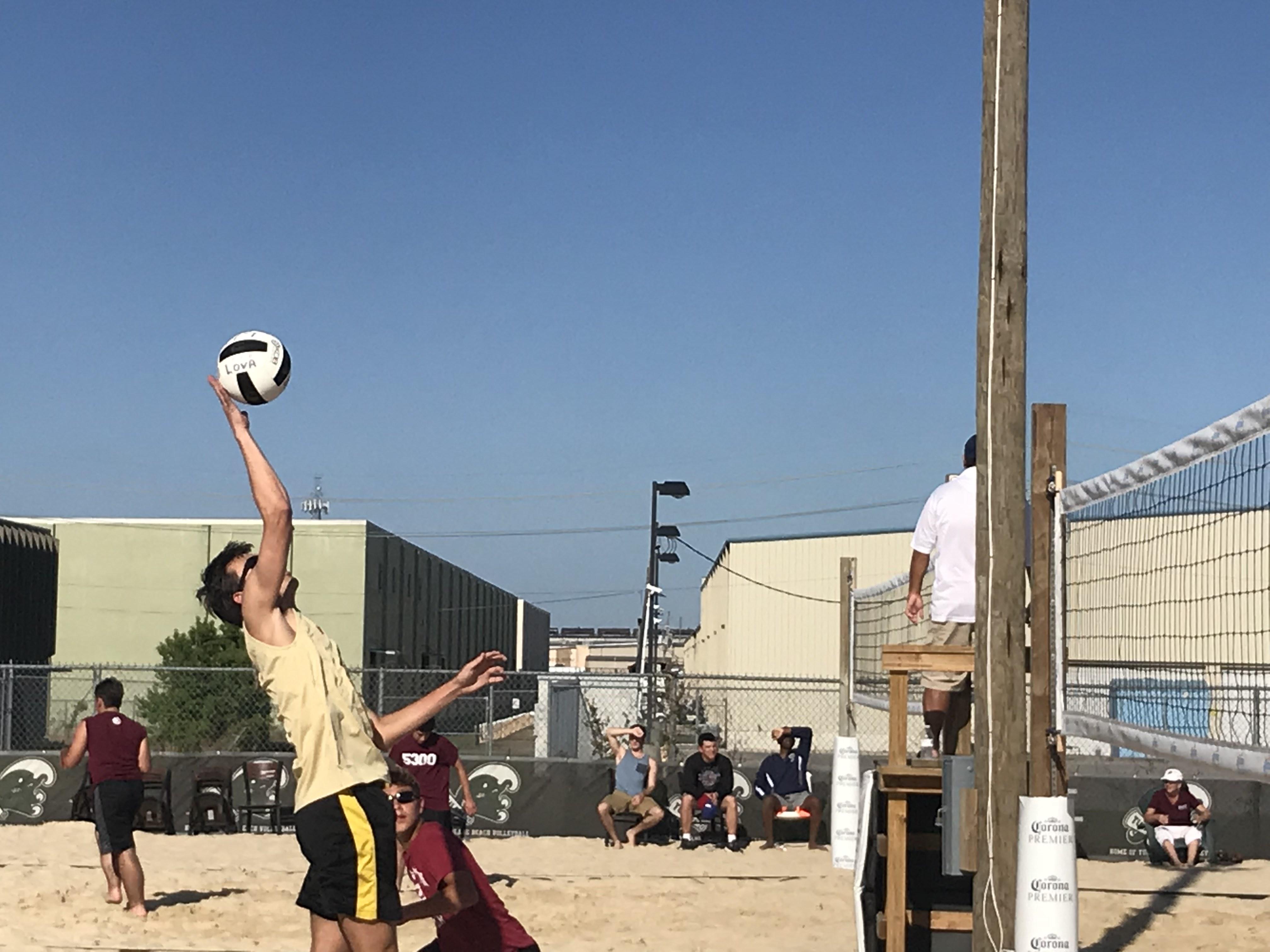 Beach Volleyball Takes On Rummel Raiders Brother Martin High School