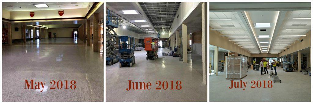 Mall Renovation Update Timeline
