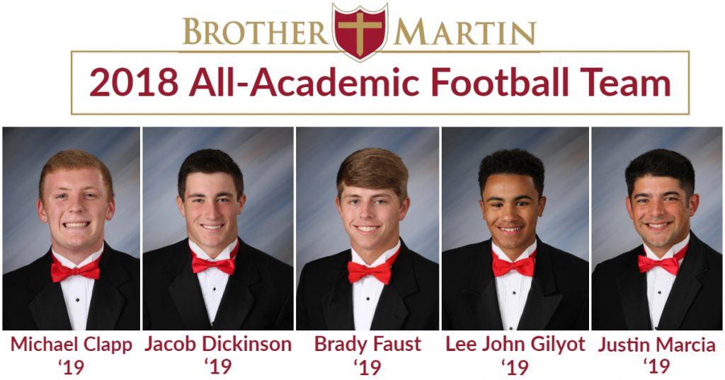 2018 All Academic Football
