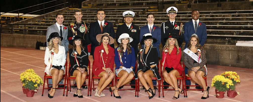 Homecoming Game Court