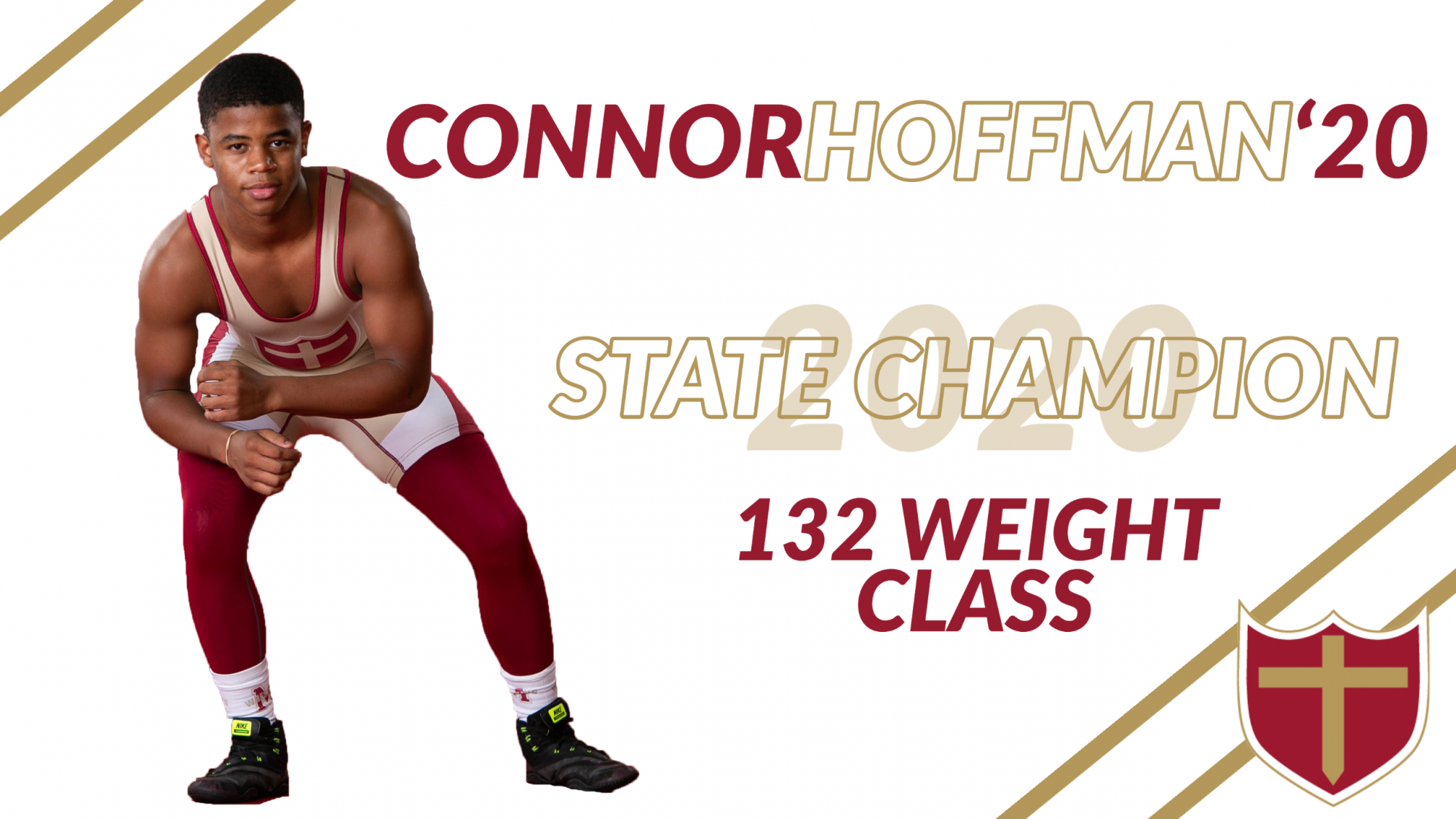 Connor Hoffman '20 State Champ