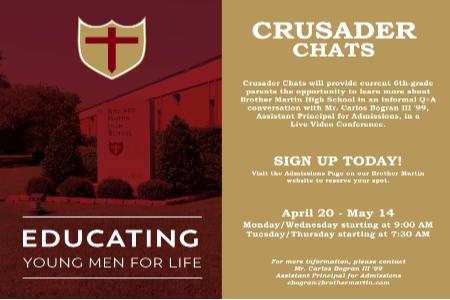 Crusader Chat 450x300