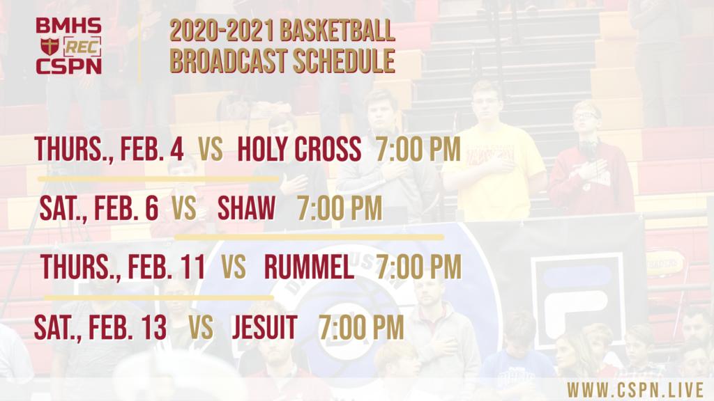 CSPN 2020 Basketball Schedule_Updated 1-25-21