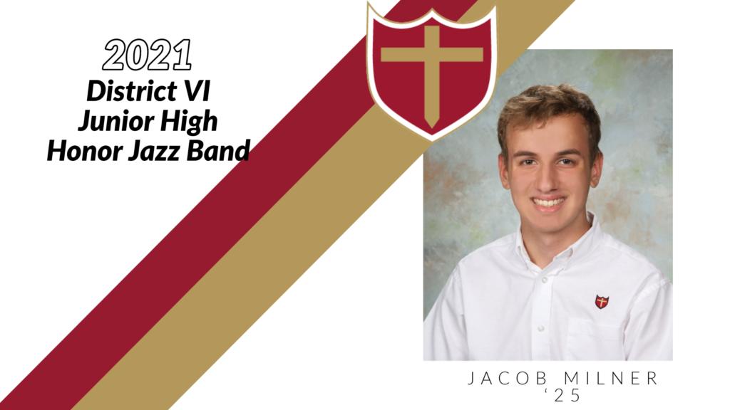 Jacob Milner - Junior High Honor Jazz Band