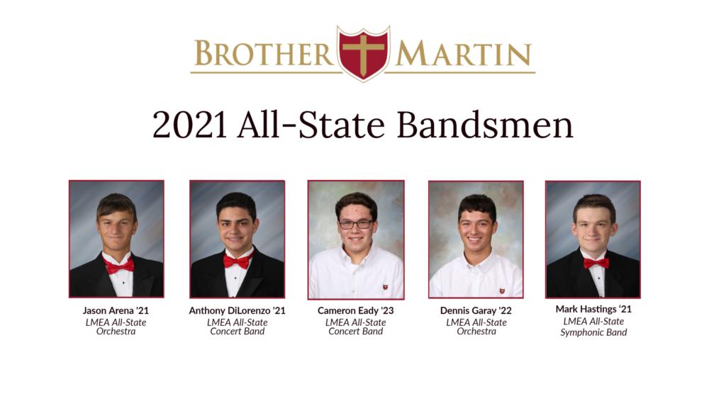 2021 All-State Bandsmen