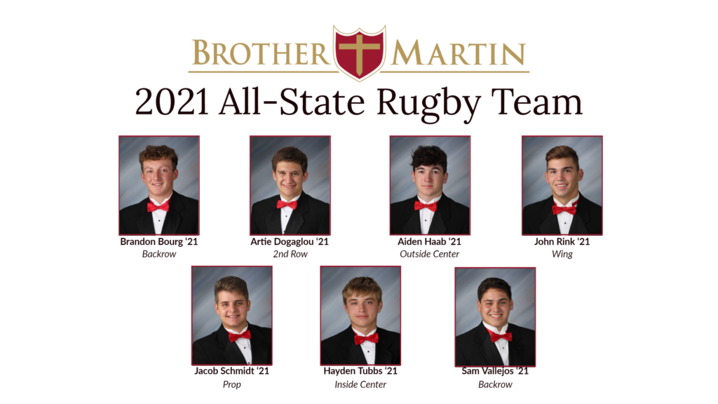 2021 All-State Rugby Team